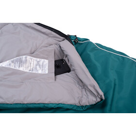 Grüezi-Bag Biopod Wool Goas Comfort Sleeping Bag Dark Petrol